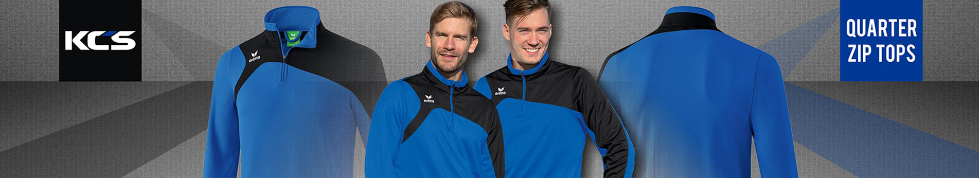 Quarter Zip tops Header 2018
